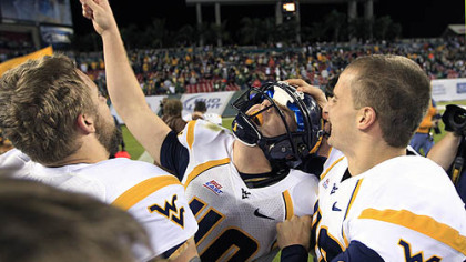 WVU beats South Florida, 30-27, as field goal with no time left wins it