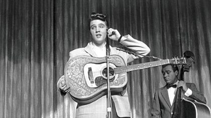 Elvis memorabilia to tour South America