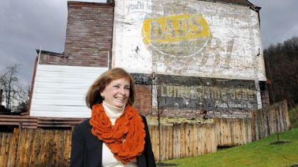 The Sign Painter: Among the region's many 'ghost signs' is the fading legacy of 'Red' O'Donnell