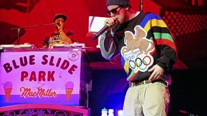 Native son Mac Miller headlines on stage at stage AE.