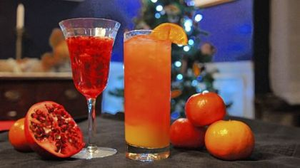 Some sparkling recipes for holiday drinks