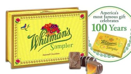 Factoid: Before the Whitman's Sampler candy box ...