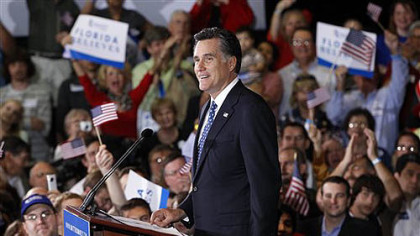 Romney wins Florida's GOP primary