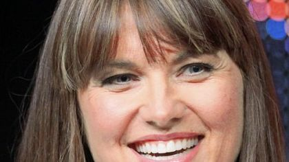 Actress Lucy Lawless.