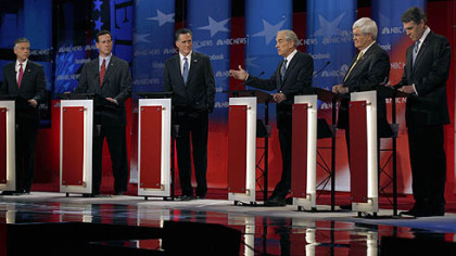 GOP rivals come out slugging in latest debate