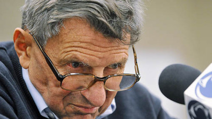 Paterno's health deteriorating, condition called 'serious'