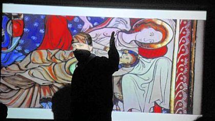 La Roche College celebrates addition of hand-made Bible