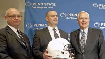 Bill O'Brien, new hand at the Penn State helm