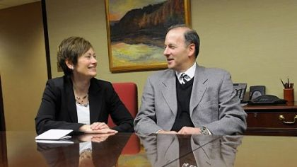 Husband and wife run two of the region's most important legal organizations