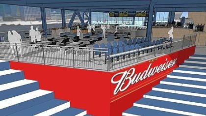 Bud-branded lounge set for PNC Park