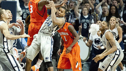 Penn State holds on to upend No. 22 Illinois, 54-52