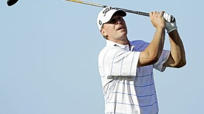 Stricker builds 5-shot lead