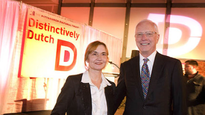 Distinctly Dutch Festival reception held at The Pittsburgh Cultural Trust