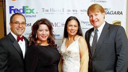 The Pittsburgh Metropolitan Area Hispanic Chamber of Commerice hosts Three Kings Day Gala