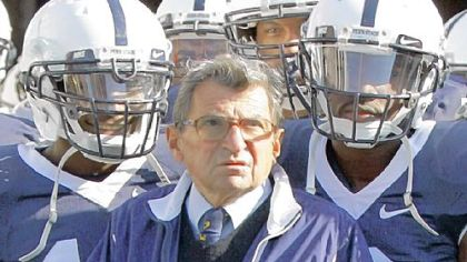 Obituary: Joseph Vincent Paterno / For Penn State's 'JoePa,' a storied but scarred legacy