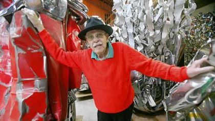 Obituary: John Chamberlain / Sculptor worked with automobile sheet metal