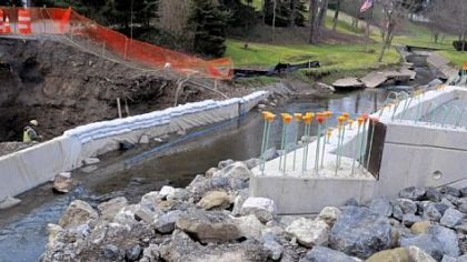 Thompson Run bridge deadline now April 30