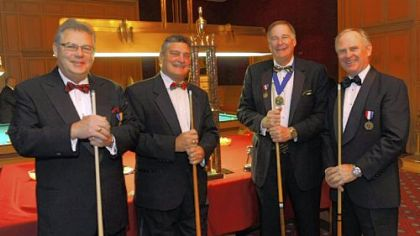 Cummerbund Society Pool Tournament held at the Duquesne Club