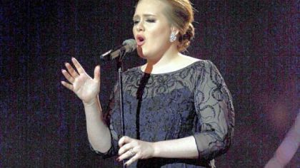 Soulful British singer Adele had better clear some space for all of her Grammys