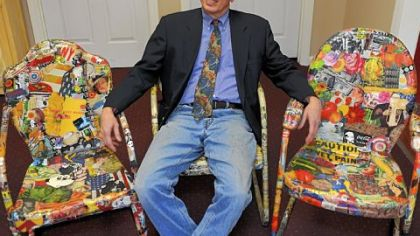 A newsmaker you should know: He turns chairs into works of art
