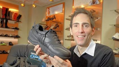 GPS shoe lets families keep track of elderly relatives