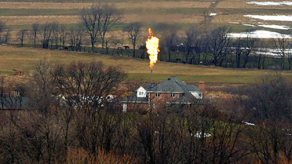 Flares from Marcellus Shale wells attracting plenty of attention