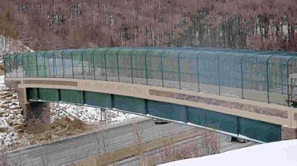 Bridge is back on Laurel Highlands trail