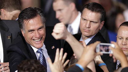 Romney makes it two in a row by coasting to victory in Nevada