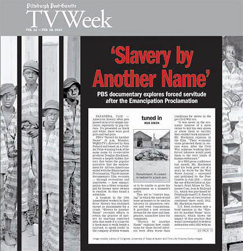 slavery by another name review Watch videos from slavery by another name, the documentary based on the book by douglas a blackmon, brought the pbs by producer and director sam.