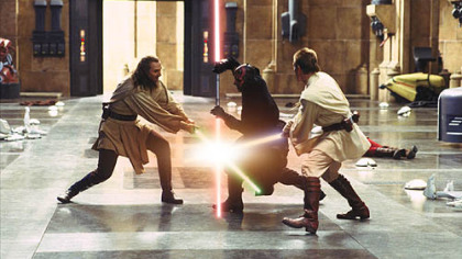 3-D can't hide the flaws in 'Phantom Menace'