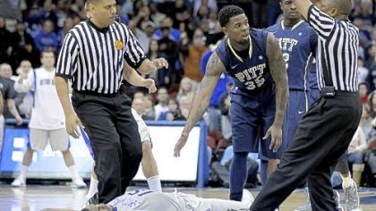 Pitt basketball finds out how bottom half lives