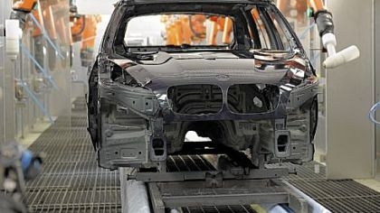 Models are painted and assembled at BMW's manufacturing facility in Spartanburg, S.C.