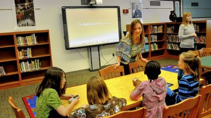 Anonymous donation funds Ingram Elementary School library upgrade, technology
