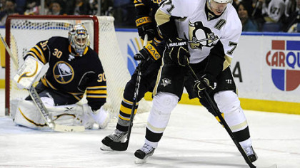 Penguins never catch up as Sabres rule, 6-2