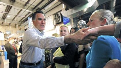Romney concentrates on jobs at Ohio stop