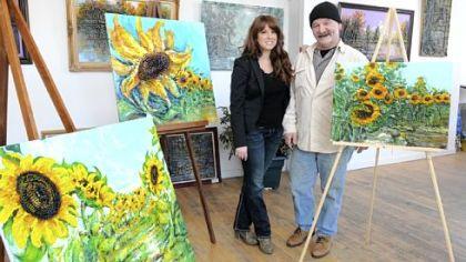 Stowe garden inspires artist
