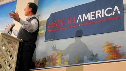 Santorum continues attacking environmental policies