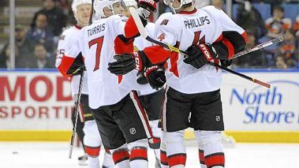 Ottawa dominates Islanders