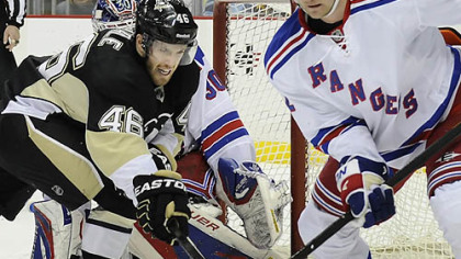 Penguins defeat Rangers, 2-0
