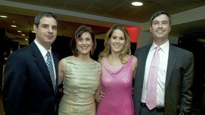 Tony Landolina, Michelle Wright, Roxanne Platek and Derek Wright .