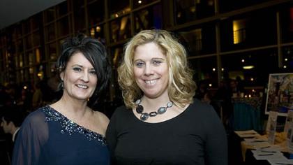 Glenda Harlan and Nena Uhler.