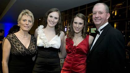 Christine, Mackenzie, Lauren and David J. Mayernik.