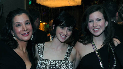 Andrea Ehrenreich, left, Amanda Olar and Sarah Hanna White.