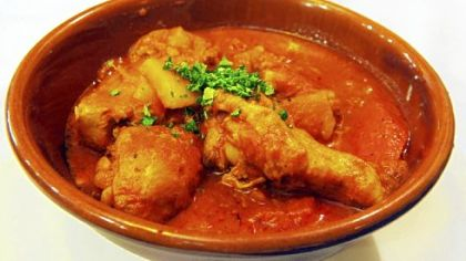 At Paris 66, the Chicken Basquaise was braised in a heavenly sauce of peppers, onions, tomatoes and spicy paprika.