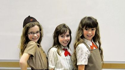 Girl Scout show features uniforms through the ages
