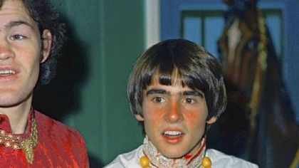 Mickey Dolenz and Davy Jones in 1967.
