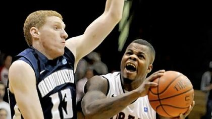 Robert Morris rolls into semifinals with win vs. Monmouth