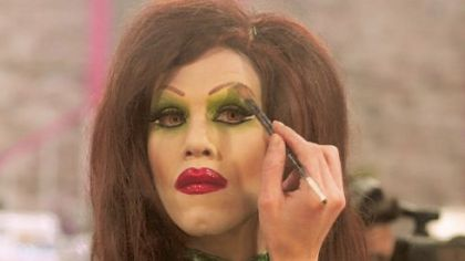 Reality Check: Sharon Needles in lead pack