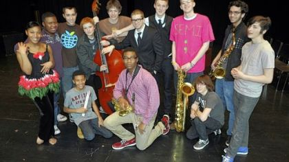 CAPA band welcomes 'Josephine Baker'