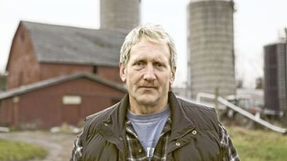 Bill Graby, a dairy farmer in Callicoon, N.Y., has been campaigning to lift the New York state ban on fracking.